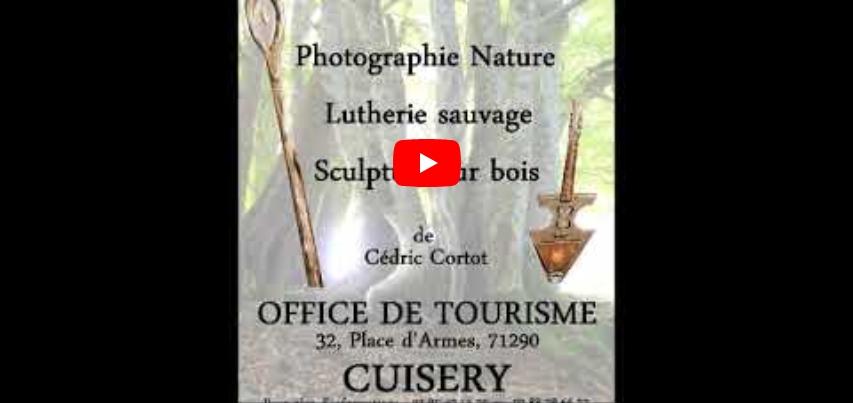 Visite virtuelle, Exposition de Cédric Cortot - Baxt-creaction, à l'Office de Tourisme de Cuisery, 71